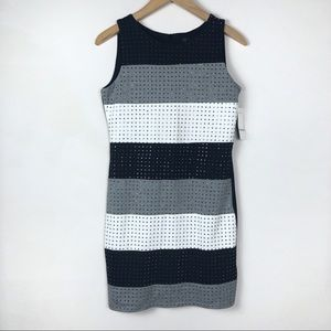 NWT Laundry by Shelli Segal Striped Shift Dress
